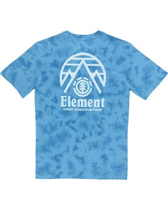 3 Overcast Ss - Tee Shirt for Men Blue N1SSB9ELP9 Element