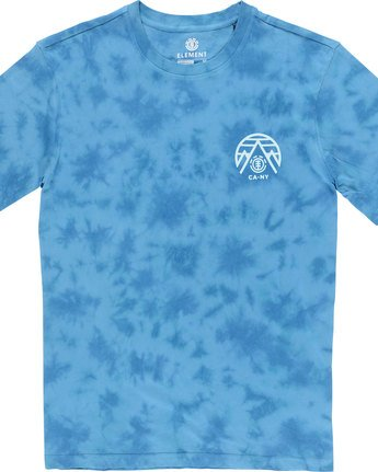 2 Overcast Ss - Tee Shirt for Men Blue N1SSB9ELP9 Element