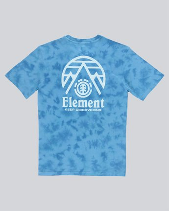 1 Overcast Ss - Tee Shirt for Men Blue N1SSB9ELP9 Element