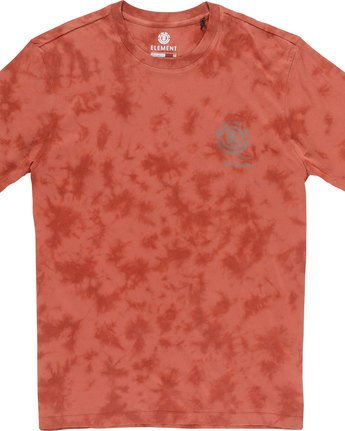 6 Valley Ss - Tee Shirt for Men Red N1SSC1ELP9 Element