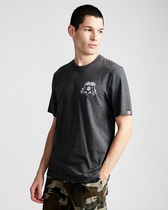 0 Stump Ss - Tee Shirt for Men Grey N1SSC2ELP9 Element