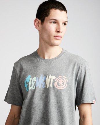 1 Chimp Ss - Tee Shirt for Men Grey N1SSC4ELP9 Element