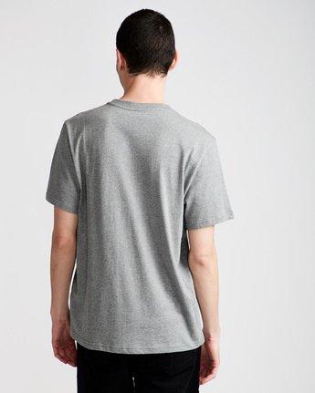 2 Driftwood Ss - Tee Shirt for Men Grey N1SSC5ELP9 Element