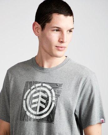 1 Driftwood Ss - Tee Shirt for Men Grey N1SSC5ELP9 Element