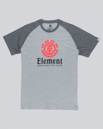 3 Vertical Ss Raglan - Tee Shirt for Men  N1SSC8ELP9 Element