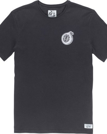 6 Blast Ss - Tee Shirt for Men Black N1SSC9ELP9 Element
