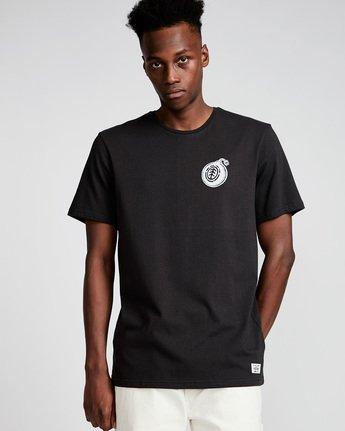 0 Blast Ss - Tee Shirt for Men Black N1SSC9ELP9 Element