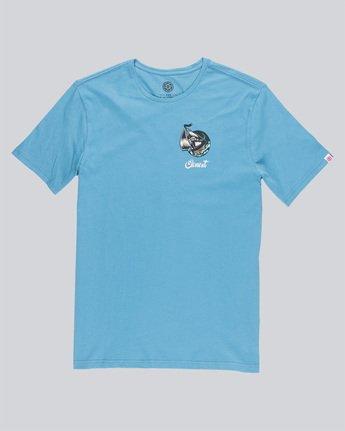 4 Craken Ss - Tee Shirt for Men Blue N1SSD4ELP9 Element