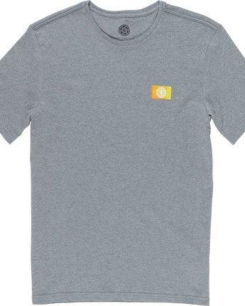 6 Jar Ss - Tee Shirt for Men Grey N1SSD7ELP9 Element