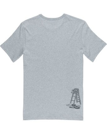 6 Spilt Ss - Tee Shirt for Men Grey N1SSE1ELP9 Element