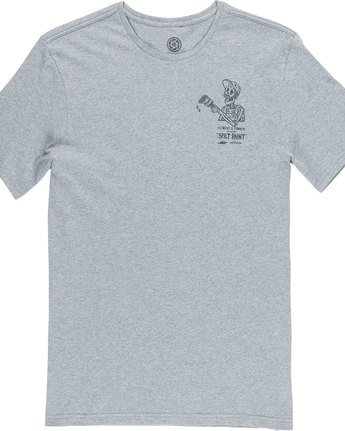 5 Spilt Ss - Tee Shirt for Men Grey N1SSE1ELP9 Element