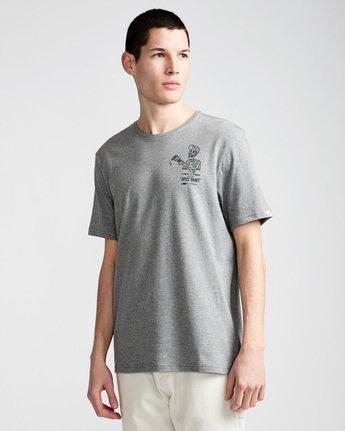 0 Spilt Ss - Tee Shirt for Men Grey N1SSE1ELP9 Element