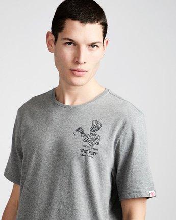 1 Spilt Ss - Tee Shirt for Men Grey N1SSE1ELP9 Element
