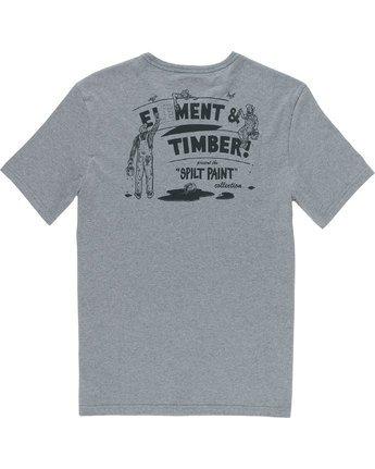 7 Crew Ss - Tee Shirt for Men Grey N1SSE2ELP9 Element