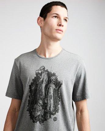 1 Night Shift Ss - Tee Shirt for Men Grey N1SSE4ELP9 Element