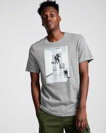0 Hr Ss - Tee Shirt for Men Grey N1SSE7ELP9 Element