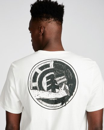 3 Painted Ss - Tee Shirt for Men White N1SSE9ELP9 Element