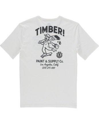 7 Supply Co Ss - Tee Shirt for Men White N1SSF1ELP9 Element