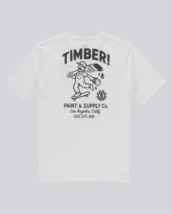5 Supply Co Ss - Tee Shirt for Men White N1SSF1ELP9 Element