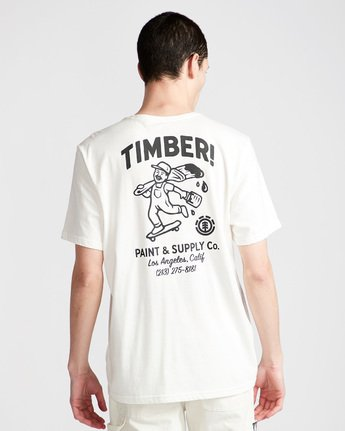 2 Supply Co Ss - Tee Shirt for Men White N1SSF1ELP9 Element