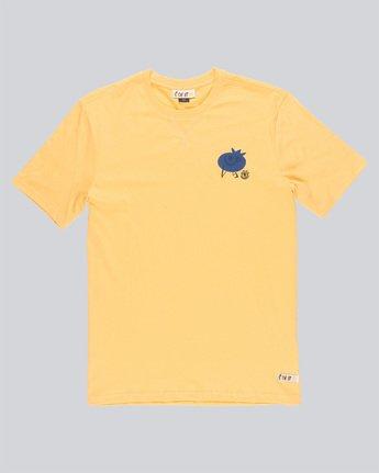 3 Yawyd Healthy Ss Tee - Tee Shirt for Men Yellow N1SSF4ELP9 Element