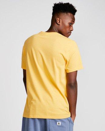 2 Yawyd Healthy Ss Tee - Tee Shirt for Men Yellow N1SSF4ELP9 Element