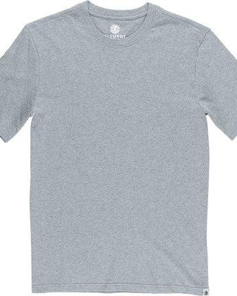 5 Basic - Maglietta a maniche corte Gray N1SSG1ELP9 Element