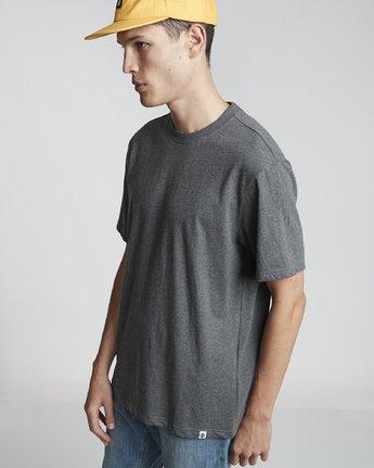 4 Basic - Maglietta a maniche corte Gray N1SSG1ELP9 Element