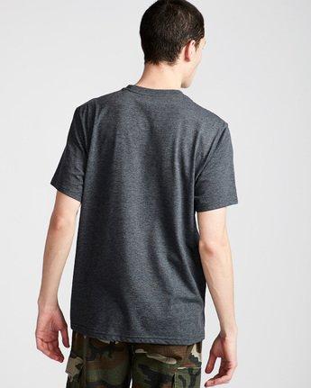 2 Basic Pocket Cr Ss - Tee Shirt for Men Grey N1SSG2ELP9 Element