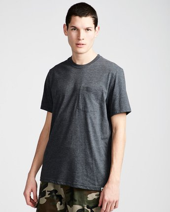 Basic Pocket Cr Ss - Tee Shirt for Men  N1SSG2ELP9