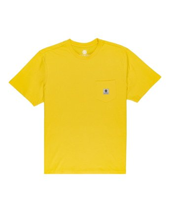 Basic Pocket Label - Short Sleeve T-Shirt  N1SSG3ELP9