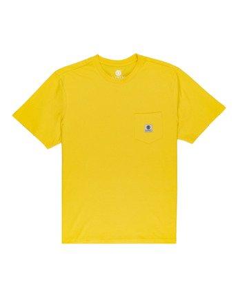 Basic Pocket Label - Short Sleeve T-Shirt  N1SSG3ELP9
