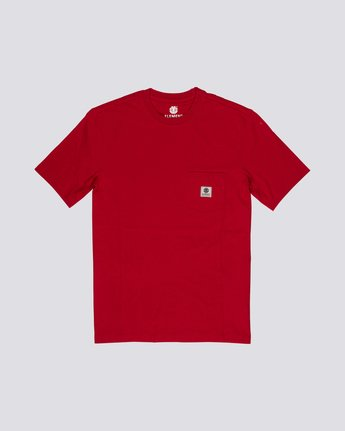 Basic Pocket Label - Short Sleeve T-Shirt for Men  N1SSG3ELP9