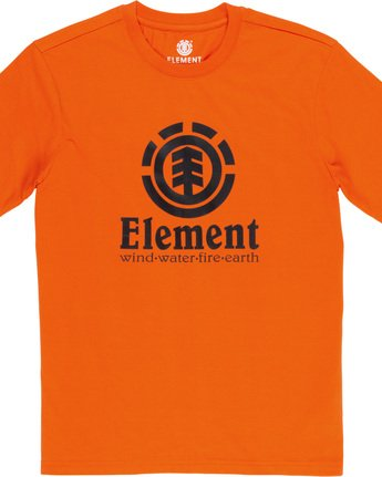 4 Vertical - Short Sleeve T-Shirt for Men Red N1SSG4ELP9 Element