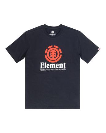 1 Vertical - Maglietta a maniche corte da Uomo Black N1SSG4ELP9 Element