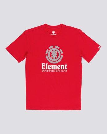 1 Vertical - Maglietta a maniche corte da Uomo Red N1SSG4ELP9 Element