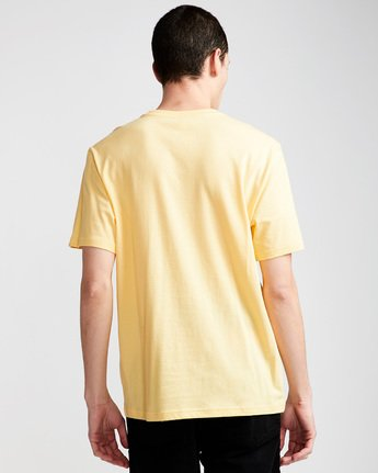 2 Vertical - T-Shirt Yellow N1SSG4ELP9 Element