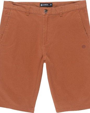 1 Howland Classic Wk - shorts pour Homme Orange N1WKA2ELP9 Element
