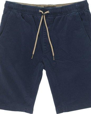 1 Altona Wk - Bermuda-Shorts für Männer Blau N1WKA6ELP9 Element