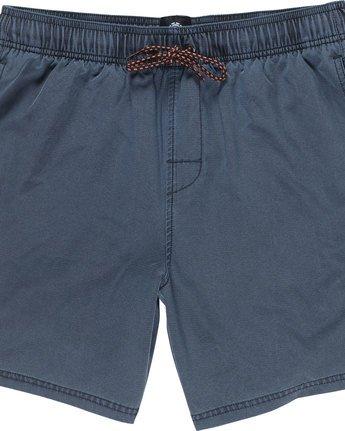 1 Path Short - Walkshort for Men Blue N1WKB9ELP9 Element