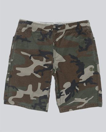 Pull Up Ripstop Camo - Walkshort for Men  N1WKC4ELP9