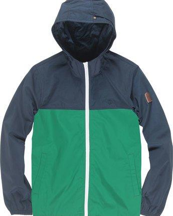 1 Alder Light 2Tones B - Jacket for Boys Green N2JKA3ELP9 Element