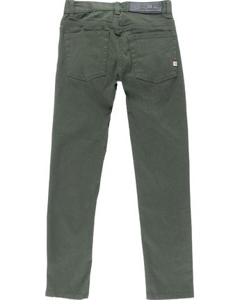 3 E02 Color Boy - Jeans for Boys Green N2PNA1ELP9 Element