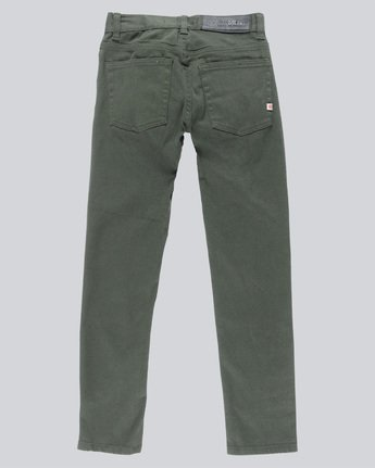 1 E02 Color Boy - Jeans for Boys Green N2PNA1ELP9 Element