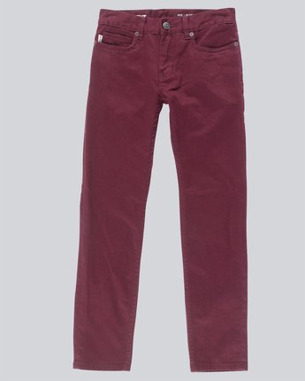 E02 Color - Slim Straight Fit Jeans for Boys  N2PNA1ELP9