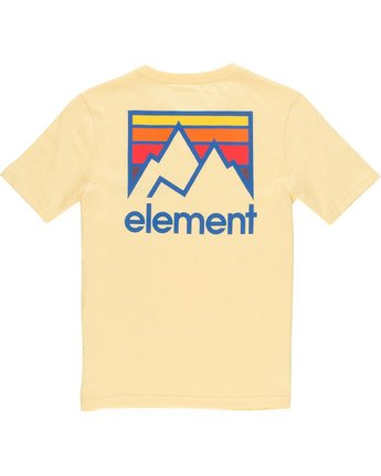 3 Joint Ss Boy - Tee Shirt for Boys Yellow N2SSB1ELP9 Element