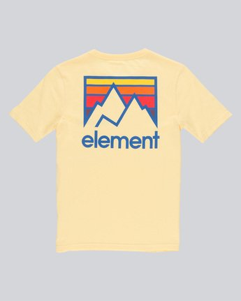 1 Joint Ss Boy - Tee Shirt for Boys Yellow N2SSB1ELP9 Element
