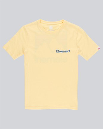0 Joint Ss Boy - Tee Shirt for Boys Yellow N2SSB1ELP9 Element