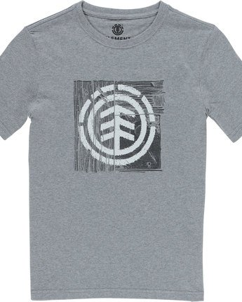 1 Driftwood Ss Boy - Tee Shirt for Boys Grey N2SSB6ELP9 Element
