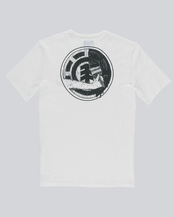 1 Painted Ss Boy - Tee Shirt for Boys White N2SSC4ELP9 Element